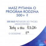 BUS programu 500+