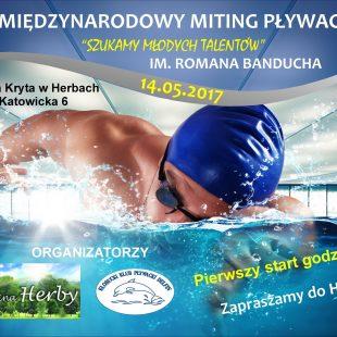 Więcej o: Zaproszenie na VI Międzynarodowy Miting Pływacki – Szukamy Młodych Talentów im. Romana Banducha
