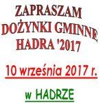 Dożynki Hadra 2017