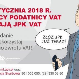 Więcej o: Wtorki zJPK_VAT – szkolenia dla podatników wkażdym urzędzie skarbowym