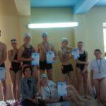 II międzyszkolnezawody pływackie