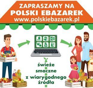 Więcej o: KRUS zaprasza doaktywnego włączenia się wkampanię promocyjną polskiebazarek.pl