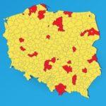 """W całym kraju """"strefa żółta"""""""