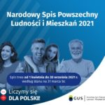 Narodowy Spis Powszechny Ludności iMieszkań 2021