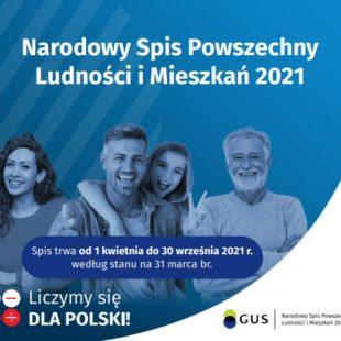 Więcej o: Narodowy Spis Powszechny Ludności iMieszkań 2021