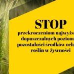 Komunikat dot. ochrony roślin